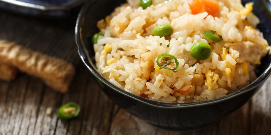 No-Egg Fried Rice Recipe