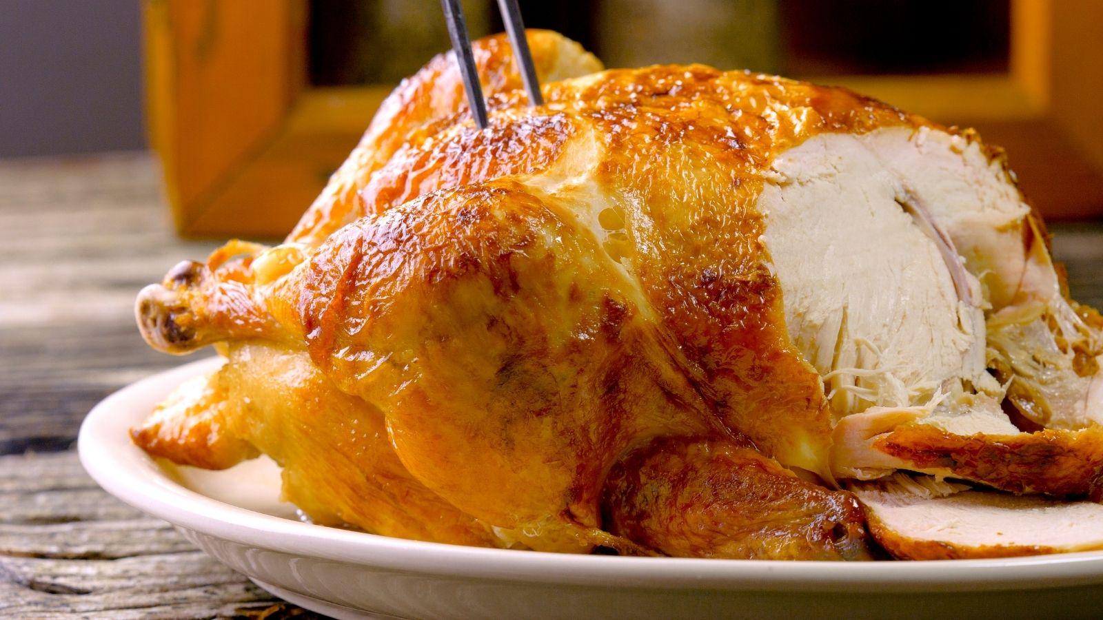 Slow Cooked Roast Chicken