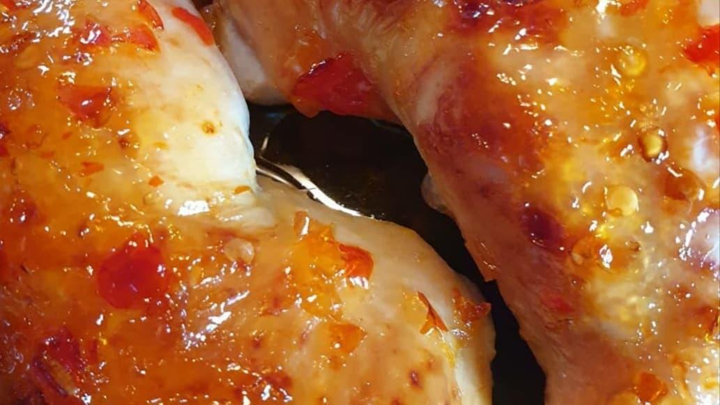 sweet chilli chicken legs 1