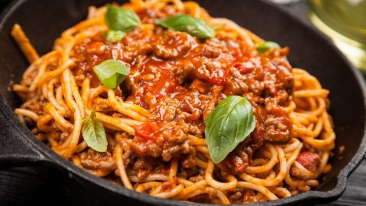 Quick and Easy Spaghetti Bolognese